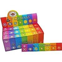 Incense Stick Bulk 7 Chakras 12 Packets 144 Sticks Lot Premium Masala Fragrance