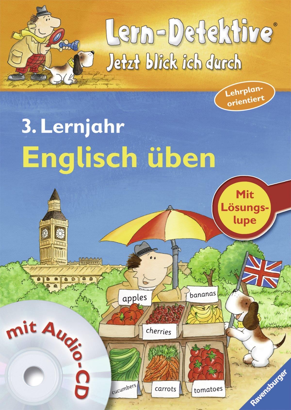 Englisch üben (3. Lernjahr) (Lern-Detektive - Jetzt blick ich durch)