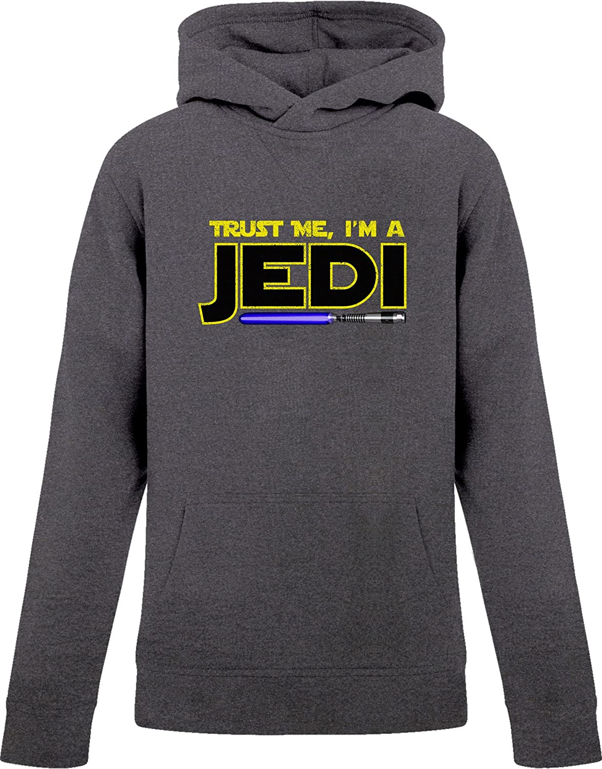 BSW Youth Boys Trust Me I'm A Jedi Star Wars Saber Theme Hoodie 1096-1HPY