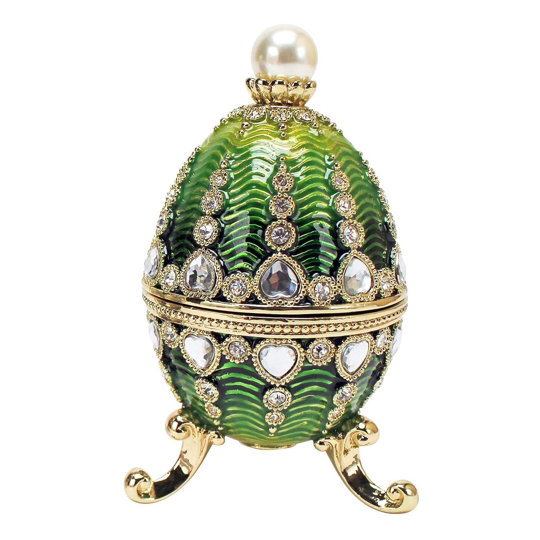 Design Toscano Bogdana-Sammlung, Emaillierte Eier im Faberge-Stil  Veronika