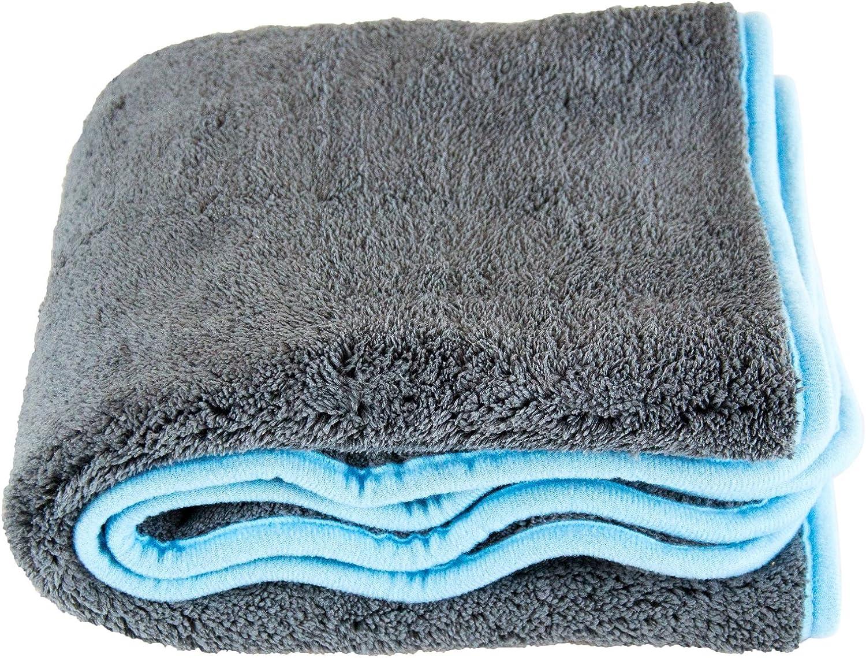 Liquid Silverback Xl Microfibre Drying Towel Cloth 1200 Gsm 50 X 80 Cm Auto