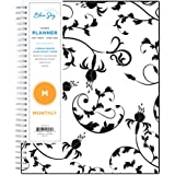 "Blue Sky 2020-2021 Academic Year Monthly Planner, Flexible Cover, Twin-Wire Binding, 8"" x 10"", Analeis"