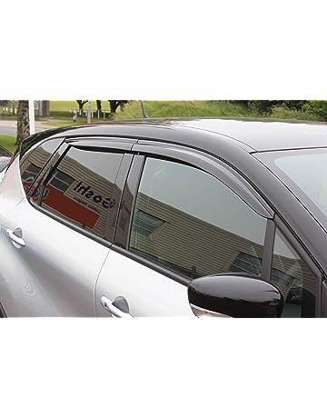 Autoclover Renault Captur Set de deflectores de Viento (4 Piezas) (Moldeado)