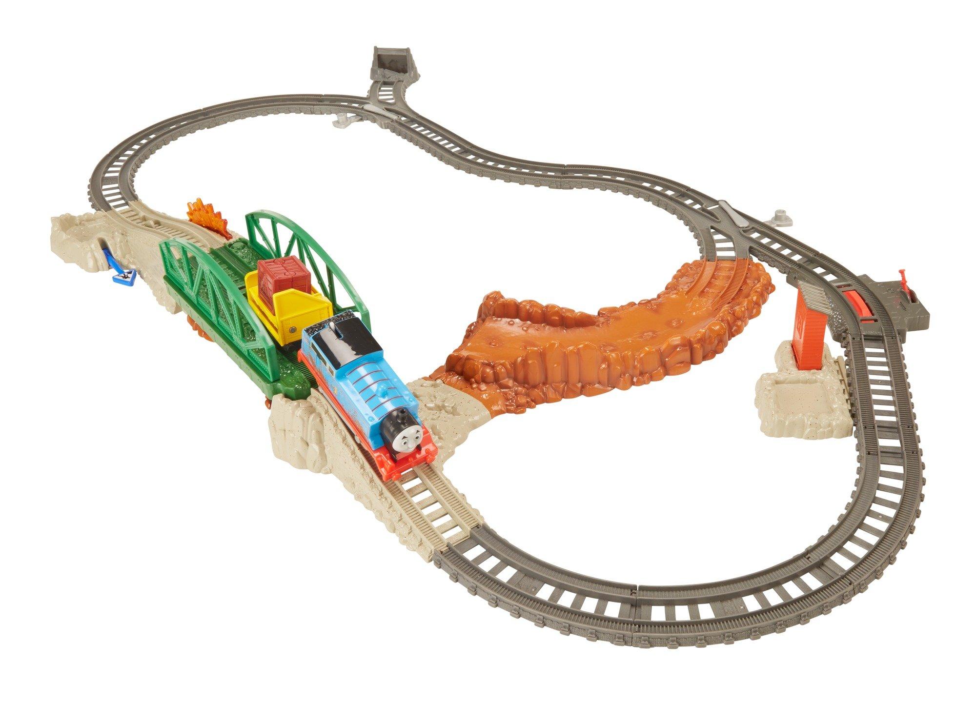 Thomas & Friends Fisher-Price TrackMaster, Daring Derail Train Set