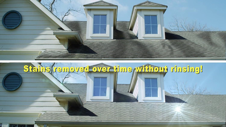 Spray Forget Sfrcheq06 Super Concentrated Revolutionary Roof Cleaner Hose End 32 Oz White Amazon Com