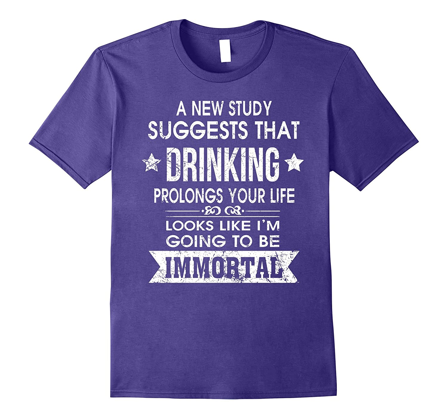 Drinking prolongs your life looks like im immortal t shirt-Vaci