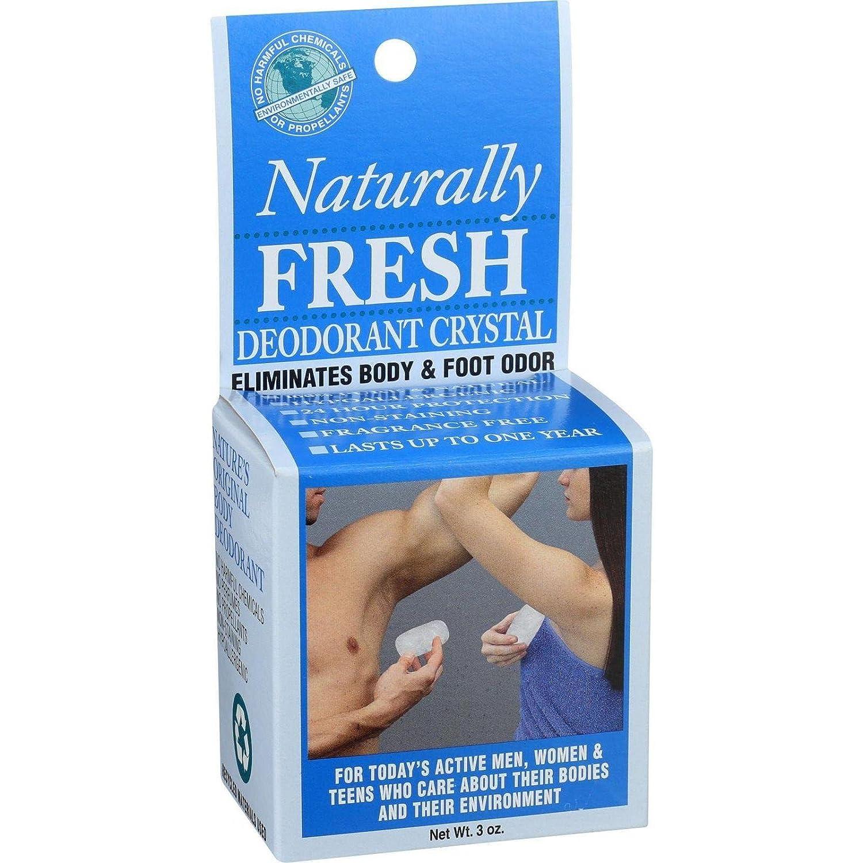DEODORANT CRYSTAL IN BOX Naturally Fresh 732168369124