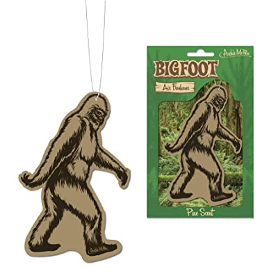 Bigfoot Air Freshener - Pine Scent: Automotive