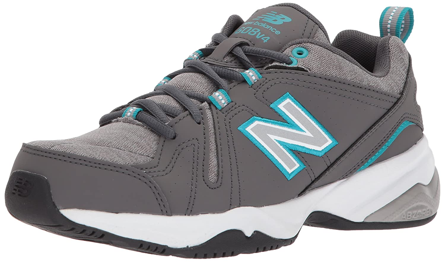 New Balance Women's WX608v4 Training Shoe B01NBODEDT 9 D US|Grey