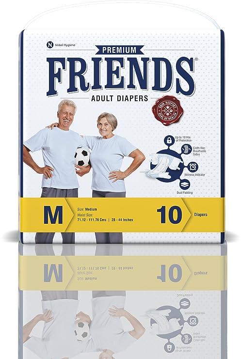 Buy friends adult diaper premium medium 10 count online at friends adult diaper premium medium 10 count fandeluxe Image collections