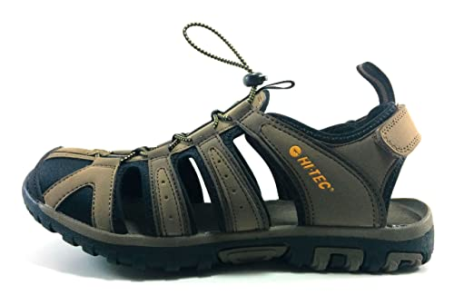 Hi Tec Cove Zapatillas de Senderismo Hombre (44 EU, Marron): Amazon.es: Zapatos y complementos