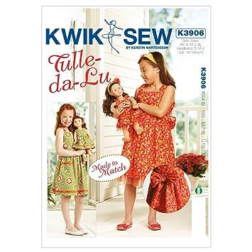 KWIK-SEW PATTERNS Kwik Sew Mustern K3906 4–5/Größe XS klein 6/mittel ...