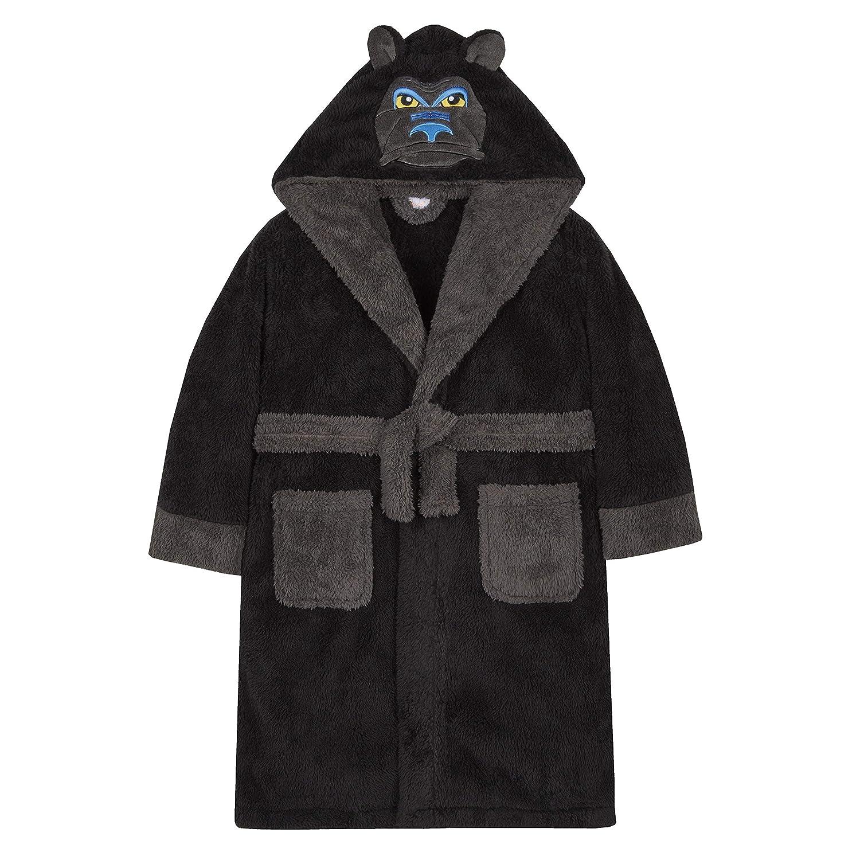 4 KIDZ Older Boys Novelty Dressing Gown Dress Up Gorilla Wolf