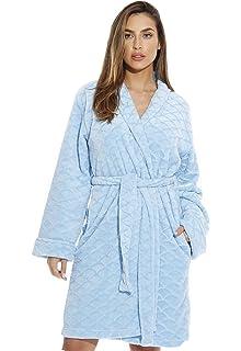 401b928182a Just Love Kimono Robe Velour Chevron Texture Bath Robes for Women at ...