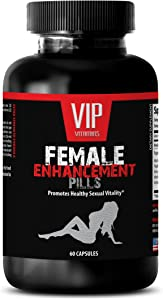 Pills for Women Sex - Female Enhancement Advanced Formula 1560G - Horny Goat Weed for Women Sex Drive - 1 Bottle (60 Capsules)