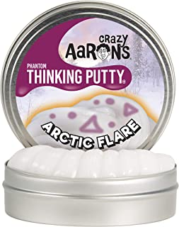product image for Crazy Aaron's Thinking Putty, 3.2 Ounce, Phantoms Arctic Flare