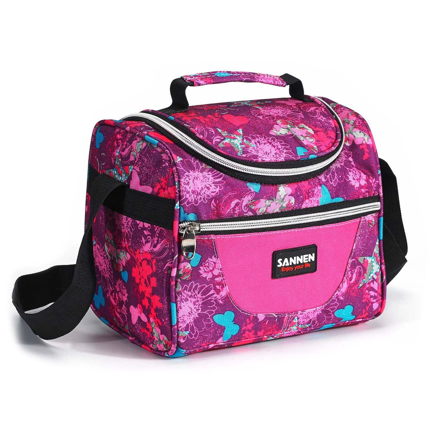 insulated lunch bag sanne adult lunch box for work men women kids with a new ebay. Black Bedroom Furniture Sets. Home Design Ideas