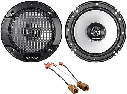"""Kenwood Front Door 6.5/"""" Speaker Replacement Kit For 2007-2012 Nissan Altima"""