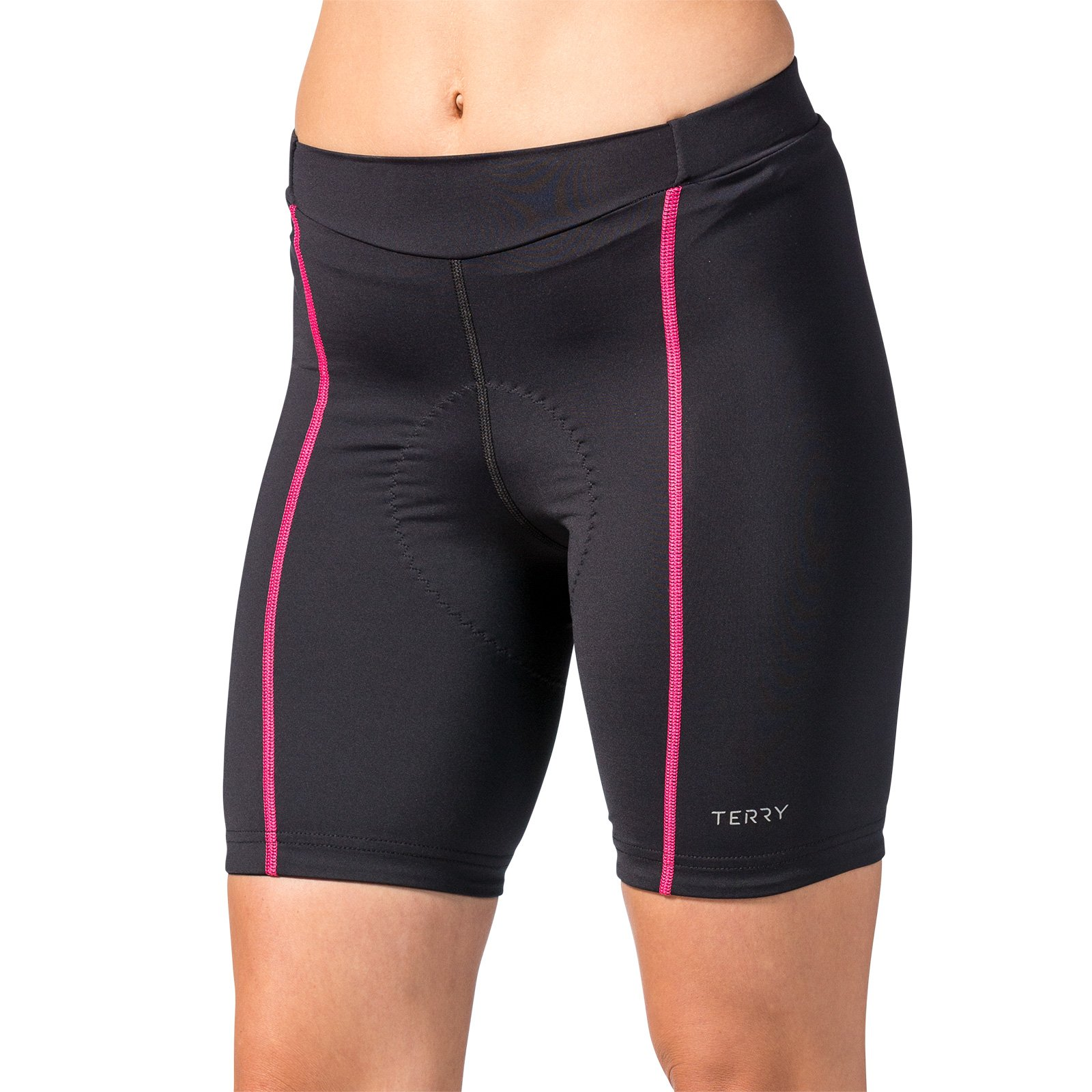 Terry Women's Bella Short - Black/Pink - X Large by Terry (Image #1)