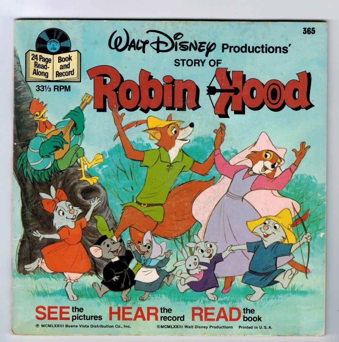 Story Of Robin Hood Read Along Book Walt Disney Amazon Com Books
