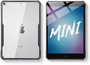 TineeOwl iPad Mini 5 / 4 Ultra Slim Clear Case, Flexible TPU, Absorbs Shock, Lightweight, Thin (Black)