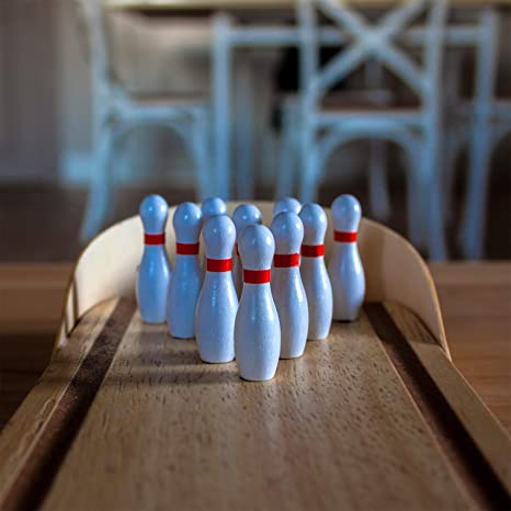 Bowling Tischbowling Riesig
