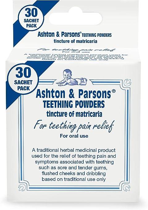 Ashton & Parsons Infant Teething Pain Relief Powder