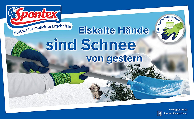 SPONTEX 121-30168 winterworker MIS 1 COPPIA 8 guanto invernale