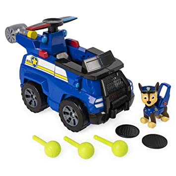 Amazon Com Paw Patrol Flip Fly Chase 2 In 1 Transforming