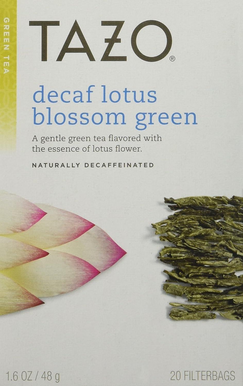 Amazon Tazo Decaf Lotus Blossom Green Tea 20 Ct Grocery
