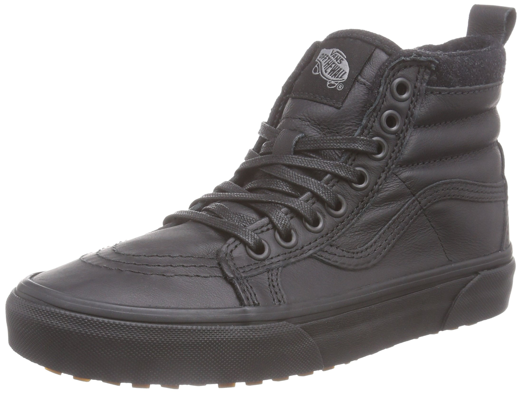 Vans Unisex SK8-Hi MTE (Mte) Black/Leather 8.5 Women / 7 Men M US by Vans