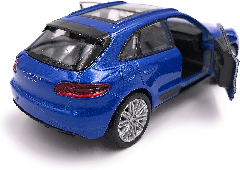 H Customs Porsche Macan Suv Modellauto Auto Lizenzprodukt 1 34 1 39 Blau Auto