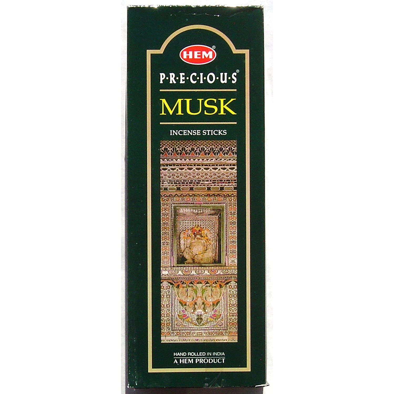 通販 Precious Musk Incense Incense B00E6DF4PI – – 裾20スティック六角チューブ – のセットで販売4チューブ B00E6DF4PI, 上野文具:49c722d6 --- ballyshannonshow.com