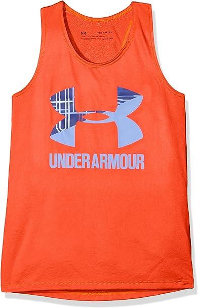 Under Armour UA Big Logo Slash Tank Camiseta sin Mangas ...