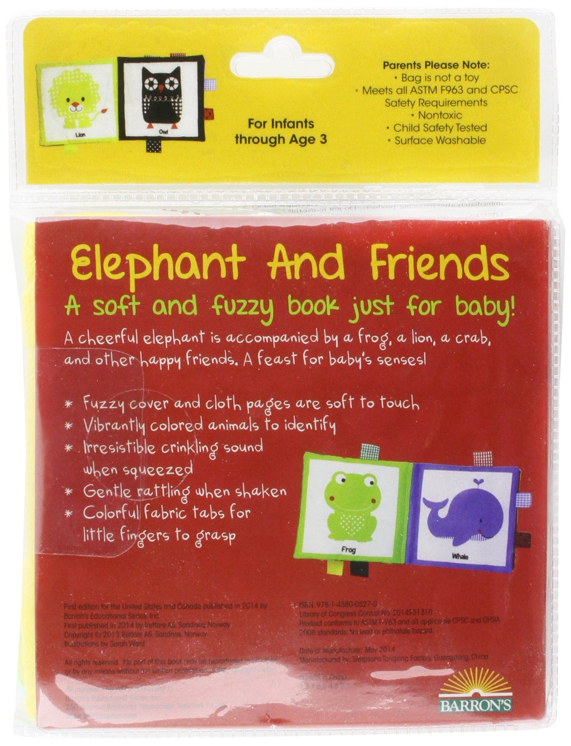 elephant and friends happy colors friends cloth books amazon