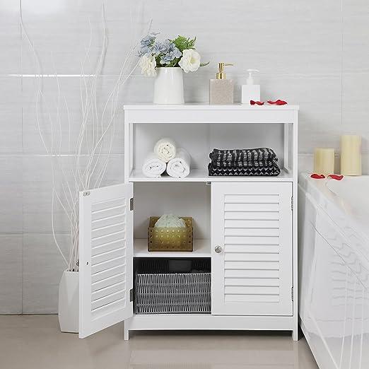 VASAGLE Mueble de Baño Auxiliar 693b9641f47f