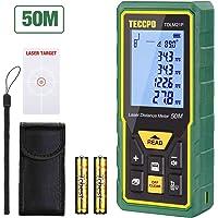 Telémetro láser 50m, TECCPO Medidor láser, Decoracion interior