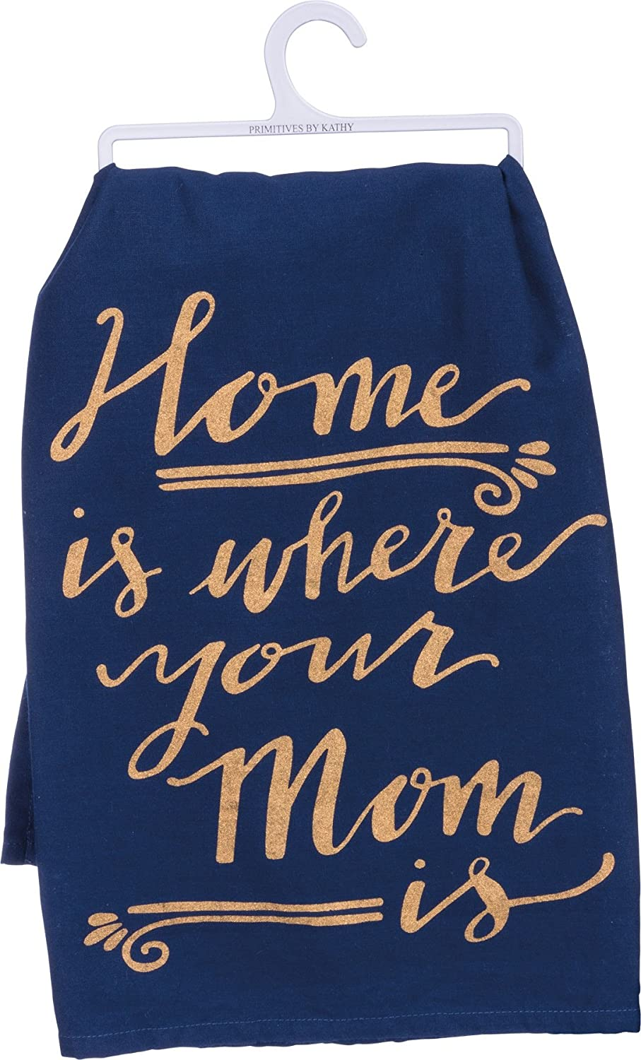 Primitives by Kathy Home Mom 28 Inches Square Cotton Dish Towel Kitchen Linens