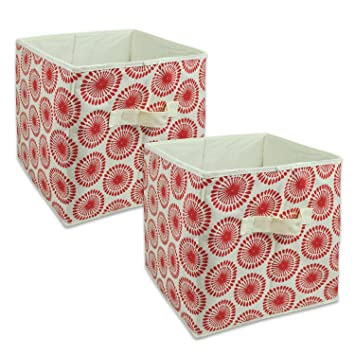 dii foldable fabric storage containers for nurseries offices closets home dcor cube - Amazon Home Decor