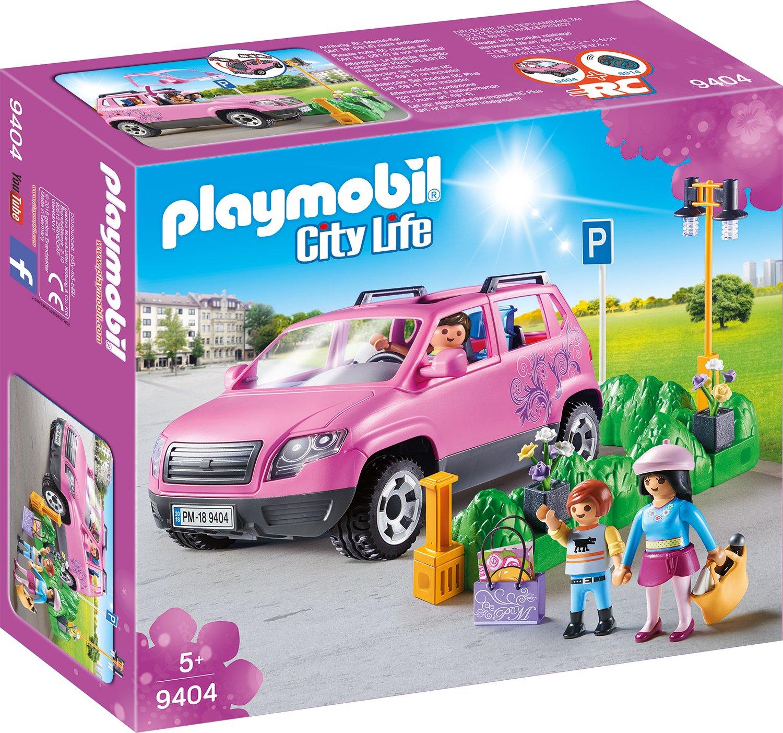 PLAYMOBIL 9404 - Familien-Pkw mit Parkbucht