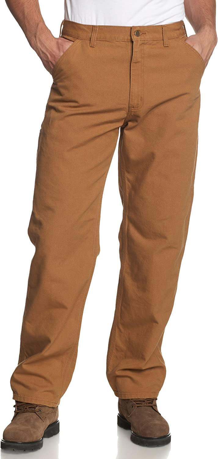 B0000ANDS9 Carhartt Men's Washed Duck Work Dungaree Pant 81N0mAxqMtL