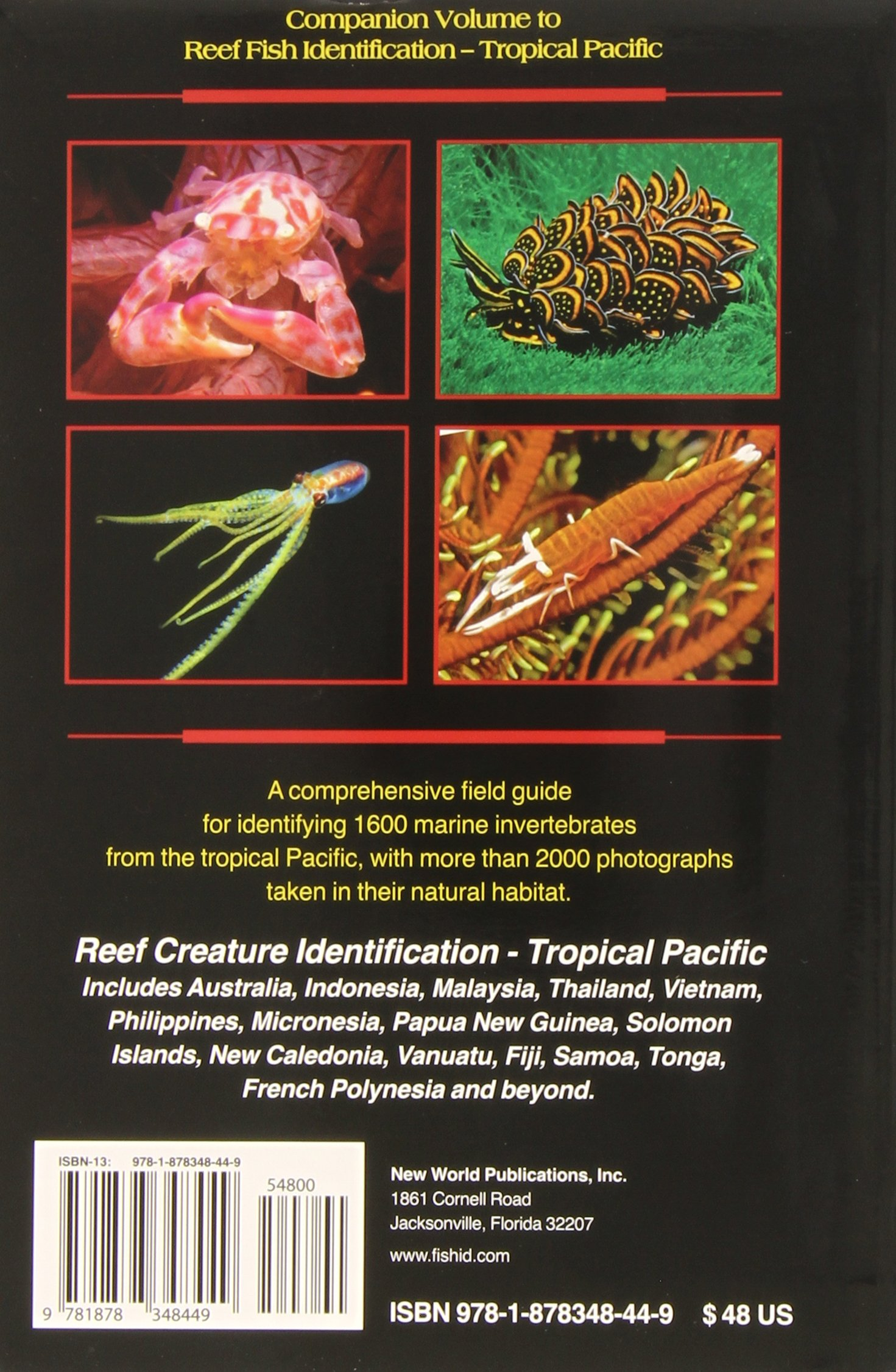 reef creature identification tropical pacific paul humann ned