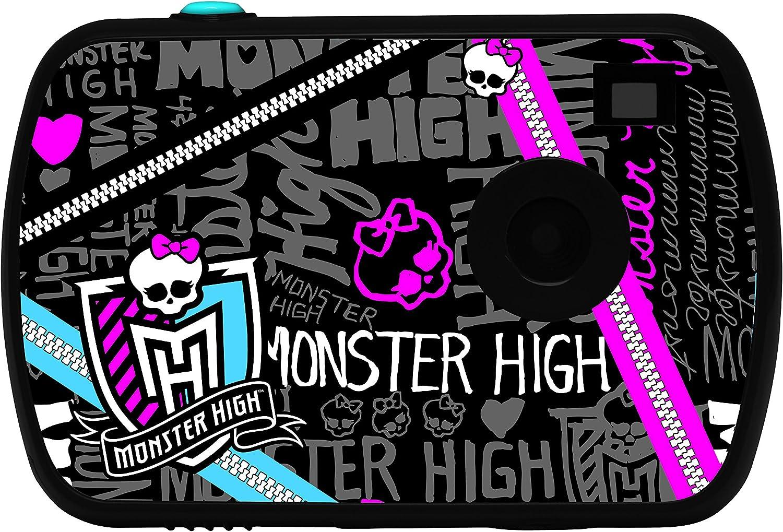 Monster High - Cámara Digital, Color Negro (Lexibook DJ021MH)