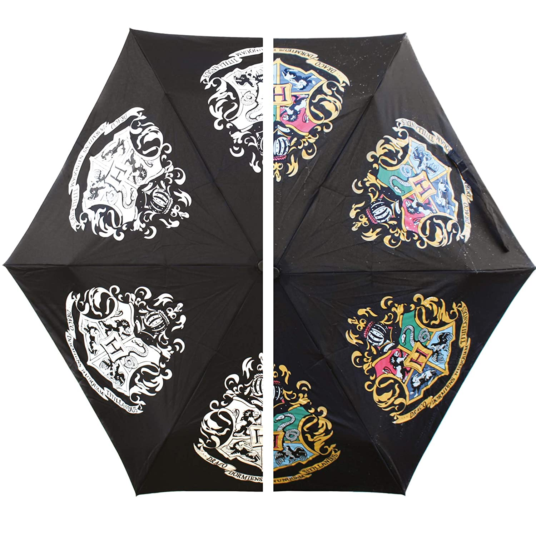 Harry Potter Crest Colour Change Umbrella HALF MOON BAY