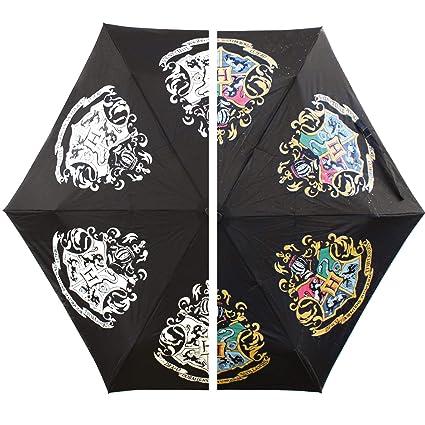 HARRY POTTER Paraguas Que Cambia de Color, 27 x 12 x 10,2 cm