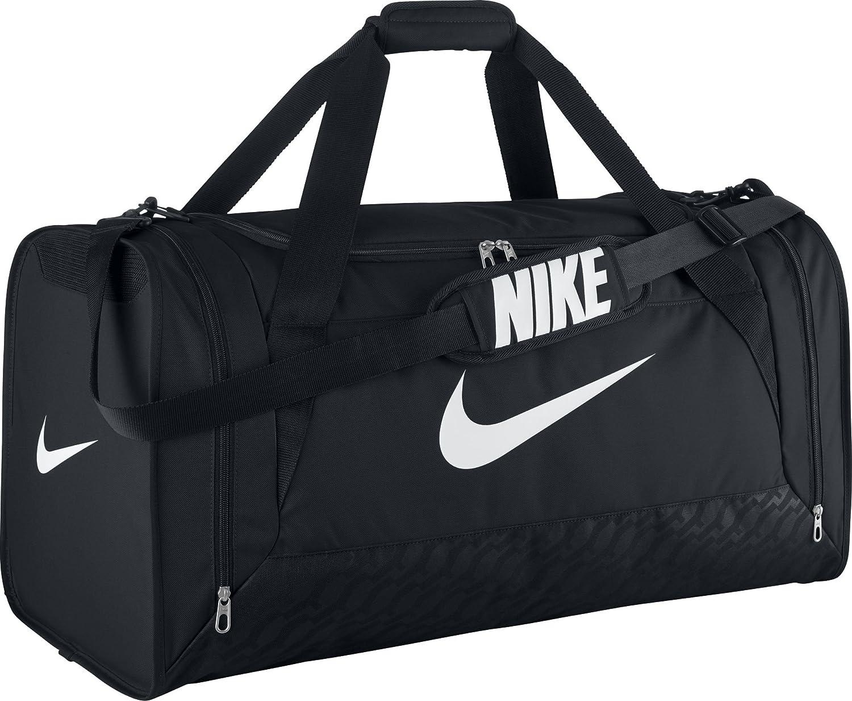 Manifestación Perforación cansada  Buy Nike Brasilia 6 Duffle Large Bag(BA4828-001) at Amazon.in