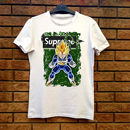 1fa738708cd4 Image Unavailable. Image not available for. Color: Supreme Gucci Vegeta -  Dragon Ball Z Fan Gift T-Shirt