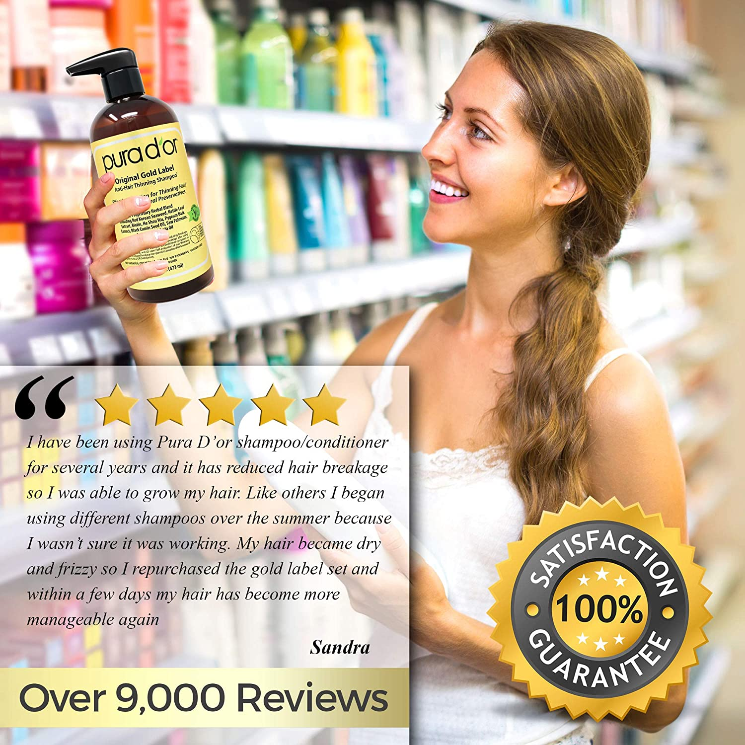 Pura D'or Clinically Tested