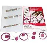 KNITPRO Symfonie Interchangeable Needle Starter Set, Multi-Color