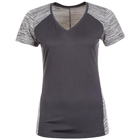ASICS Damen Fuzex V Neck Laufshirt Shirt: : Bekleidung